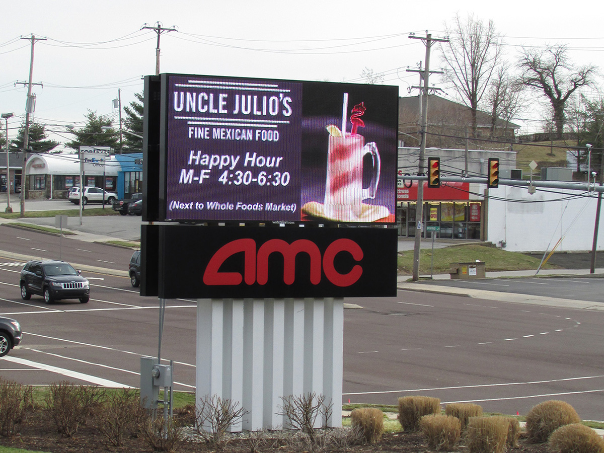 AMC Theater - 19mm LED Sign