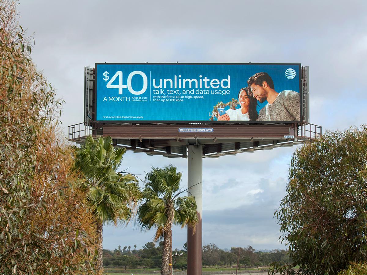Digital Billboard in Gardena, CA.