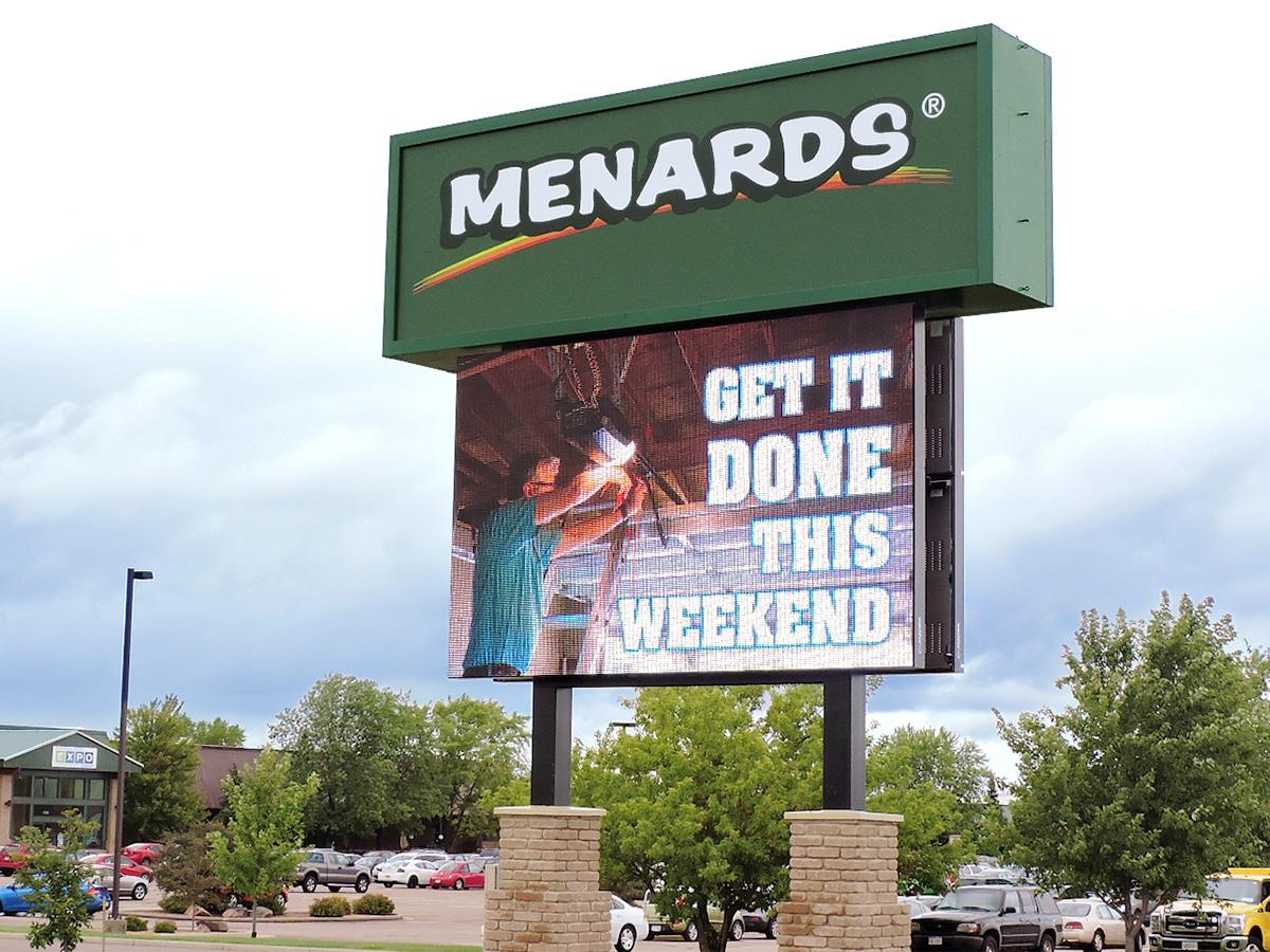 """Menards; 16mm, 11'1"""" x 18' 1"""""""