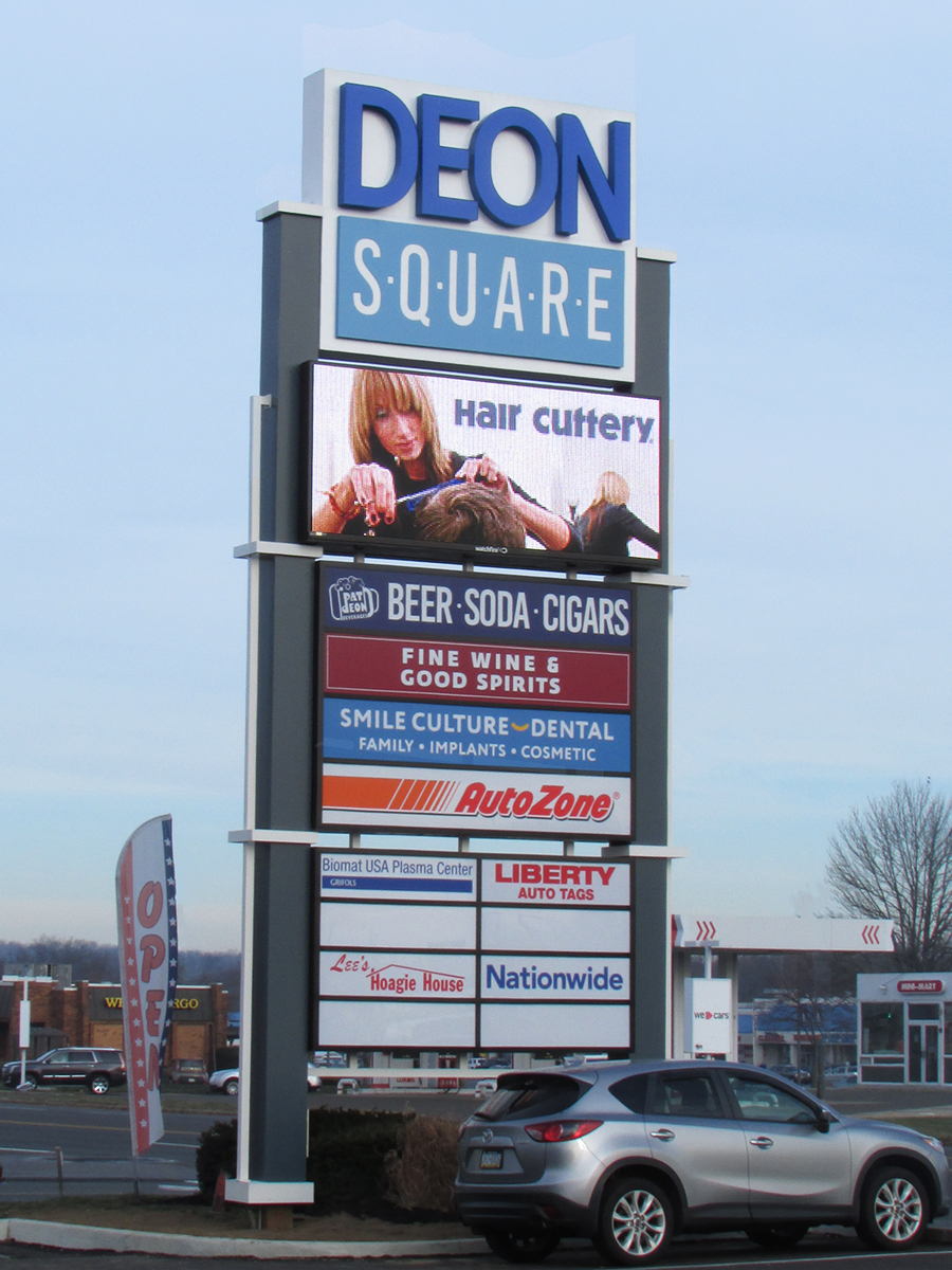 Deon Square - 16mm Watchfire LED sign