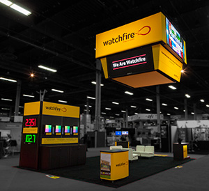 Watchfire's booth at ISA Sign Expo 2017