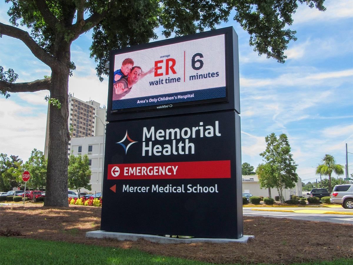 """Memorial Health; 10mm, 4'5"""" x 8'3"""""""