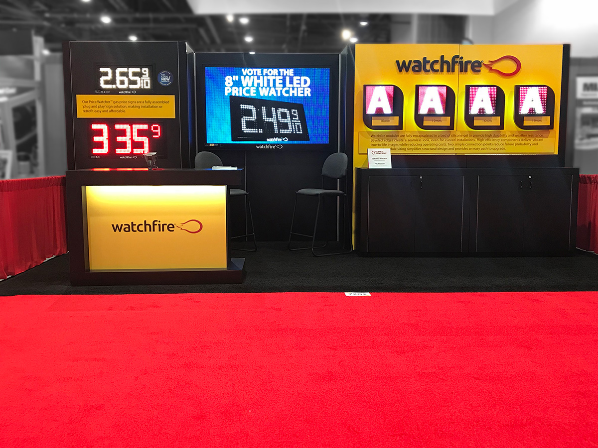 NACS 2018 - Watchfire booth #7202