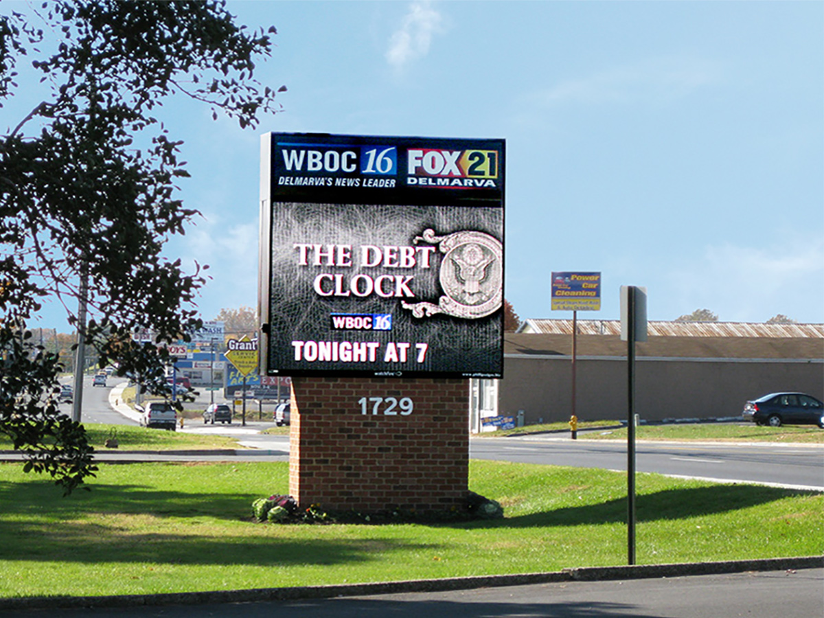 WBOC-TV/FOX21 Takes Hi-Def Outside with LED Sign - Watchfire