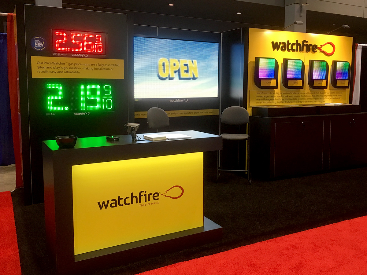 NACS 2017 - Watchfire booth #3009