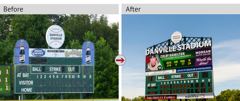 Request a quote and update your scoreboard.