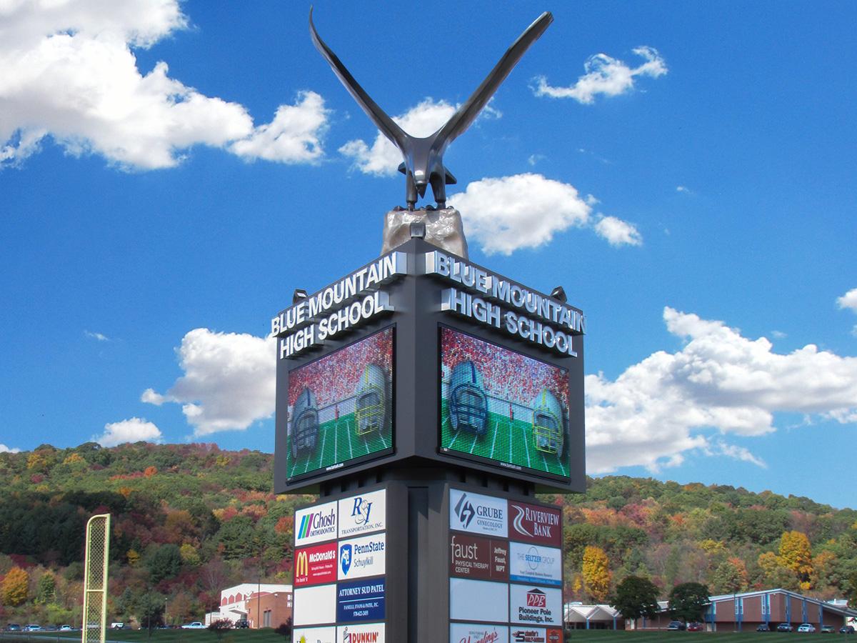 Fort Wayne Mall >> 16mm, 19mm Full Color LED Signs - Watchfire Signs | Digital Billboards, LED Signs, Scoreboards ...