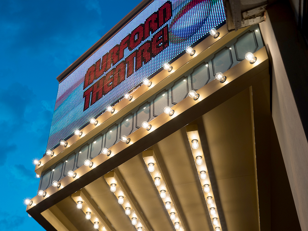 LED Signs for the Arts and Theater Marquees - Watchfire Signs ...