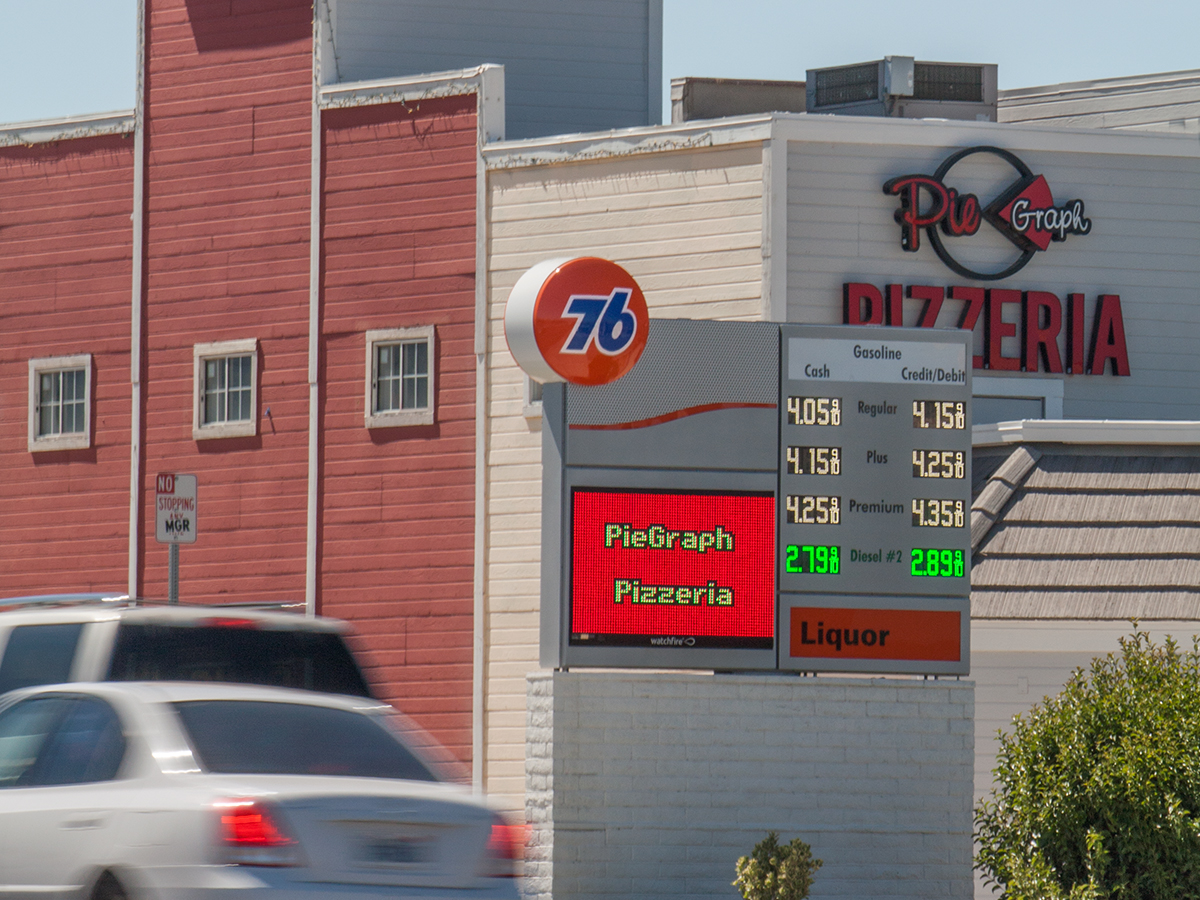 Convenience Store Chains Watchfire Signs Digital Billboards Led Signs Scoreboards Video
