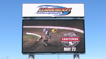 Dirt track and short track racing facilities are making use of digital signs for fan engagement and real-time scoring.