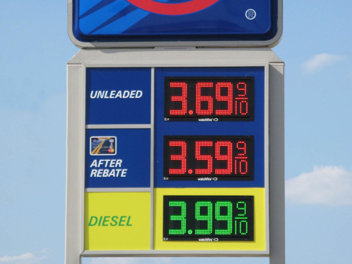 Digital Gas Price Signs Watchfire Billboards Led Outdoor Display Wiring Diagram 12