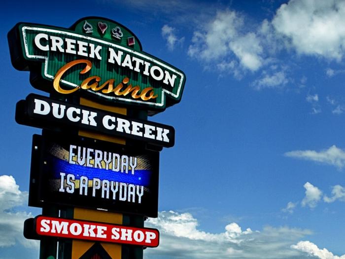 Creek nation casino duck creek rita lehmann at grand casino baden