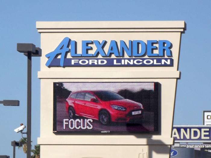 Alexander Ford Yuma Az >> Bill Alexander Ford Yuma Az Watchfire Signs Digital
